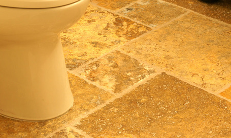 Stone Bathroom Floor Tile