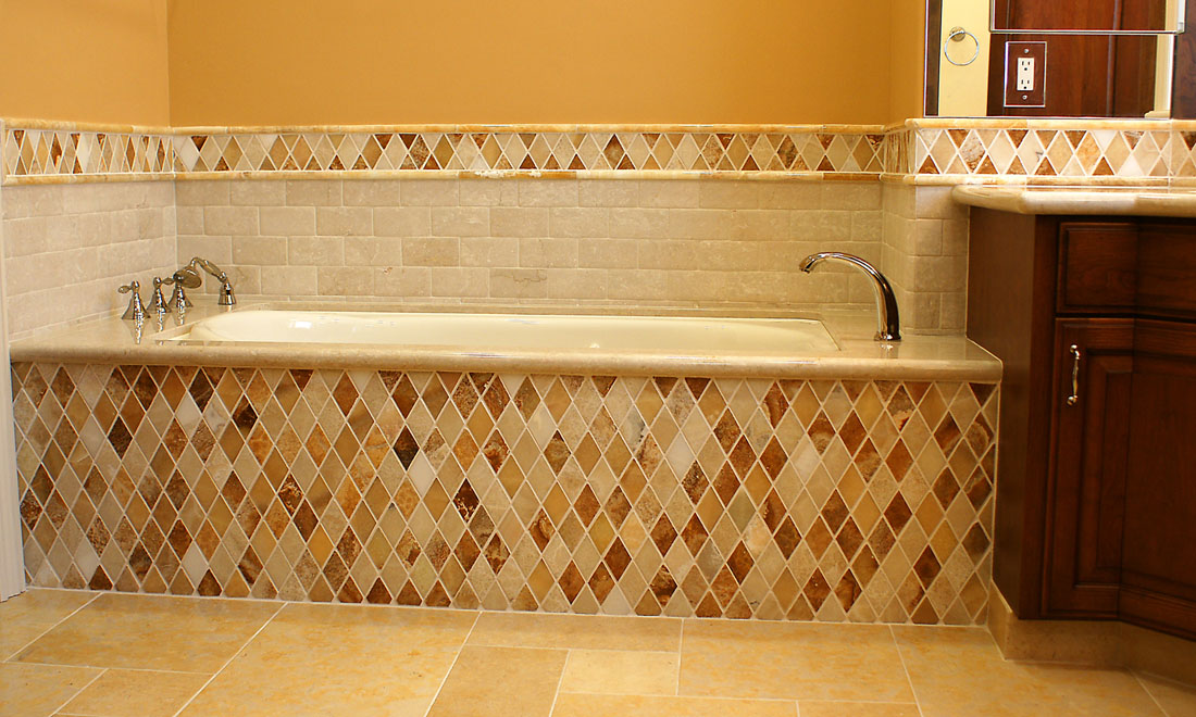 Install Bathroom Shower Tile & Tub Surrounds - Tile Plus