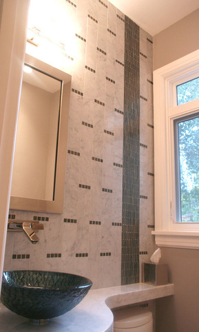 8 feet of wall tile - Bathroom Tiles Height