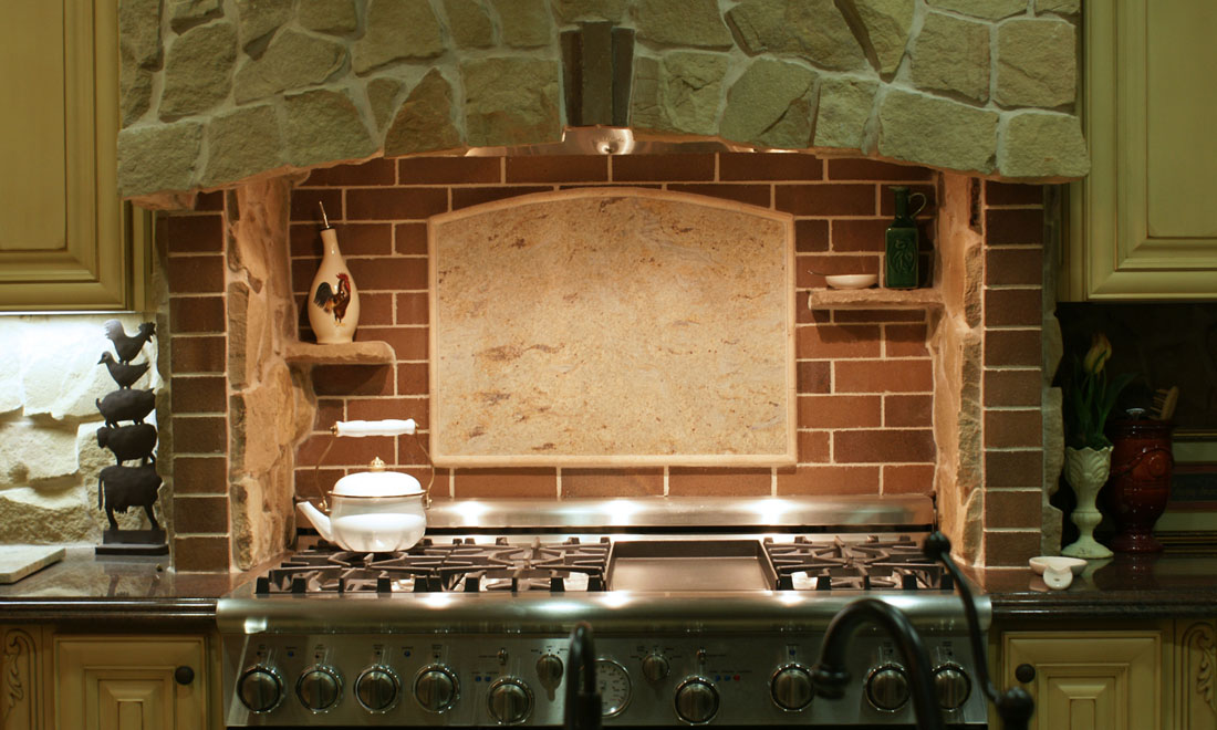 kitchen backsplash medallions